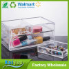 2 Tiers 3 Drawers Clear Acrylic Makeup Jewelry Storage Organizer