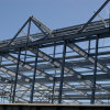 Libya Prefab Steel Structural Warehouse with Corrosion Protection