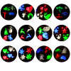 LED Party Lights Christmas Halloween Wedding Snowflake Decoration Spotlight