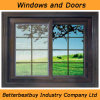 Factory Wholesale UPVC Window with Grill