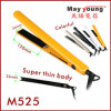 M525 Super Thin Design Hair Straightener, Colorful LED Indicator Lights