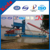 Bucket Chain Gold Mining Dredge