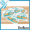 White Waterproof Custom Logo Stickers for Advertising