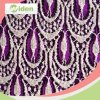 Latest Fashion Tricot Lace Design Cotton and Nylon Lace Fabric