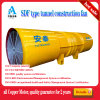 Sdf-10# 2 X 55kw High Speed Tunnel Compressor Fan / Tunnel Fan Manufacturer / Tunnel Air Draft Equipment /