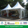 Canvas Car Pagoda Tent for Sale with Clear Window Wall