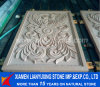 White Chinese Sandstone Carving Wall Panel