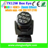 New Disco&DJ Light Zoom LED Moving Head 7X12W