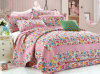 Customized Prewashed Durable Comfy Bedding Quilted 1-Piece Bedspread Coverlet Set for 51