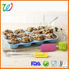 12 Cavity Factory Selling Silicone Baking Pan Muffin Pans