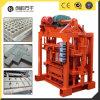 Qtj4-40 Manual Interlocking Block Making Machine Brick Making Equipment for Sale