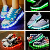 Fashion Women Running Skateboard Leisure Shoe with LED Light