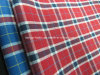 T/C Yarn Dyed Poplin Check Fabric for Shirt