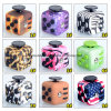 Magic Cube Decompression Fidget Toy, Stress Release Desk 12 Sides Fidget Cube