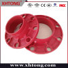 FM UL Approval Grooved Fittings Adaptor Flange for Fire Fighting