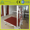 Small Aluminum Exhibition Performance Plywood LED Truss Collapsible Stage