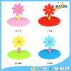 Multiple Colors Creative Sunflower Shaped Silicone Dustproof Cup Lids