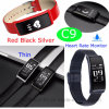 Full Touch Screen Bluetooth Bracelet with Heart Rate Monitor C9