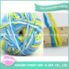 Tt Weave Hand Knitting Fancy Rainbow Dyed Acrylic Simi Thin-Thick Yarn (T104)
