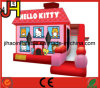 Inflatable Hello Kitty Bouncer Obstacle Slide Castle Combo for Kids