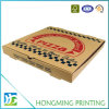Custom Logo Printed Corrugated Craft Pizza Box