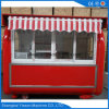 Street Mobile Fast Food Kiosk with Awning