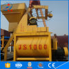 High Quality Conpulsory Double Shaft Js1000 Concrete Mixer