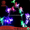 Waterproof LED 10m 100LEDs Butterfly String Light for Outdoor Decoration