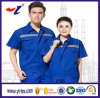 OEM & ODM Wholesale 100%Cotton Pigue Customized Work Use Workwear with Emb Logo Work Clothes Polo T Shirt