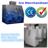 Two Slant Door Ice Merchandiser with Cold Wall System