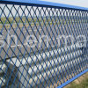 Powder Coated Expanded Metal Mesh for Isolation Fence