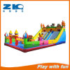 Children Inflatable Bounce with Climbing Wall and Slide