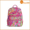 Fashion Printcloth School Girls Double Shoulder Bags Campus Backpack