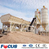 Mobile Portable Concrete Batching Plant with Capacity of 25/35/50/60/75/100/120cmb Per Hour