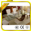 3-19mm Plain Clear Tempered Glass for Furniture/Table Top/Home Appliance