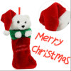 2017 New Style Cute Christmas Decoration Stocking-J004