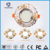 Round LED Modern Creative Recessed Aluminum Ceiling Downlights European Anti-Fog Embedded Spotlights Living Room Entrance Aisle Market Decorative Panel Lights