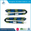 High Quality Promotion Flat Polyester Neck Lanyard NFL Olympic Premium Customized School Flat Polyester Printing Lanyard Silicone Team UK Polyester