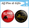 Business Promotion Button Badge with Offset Printing Tin Plate (button badge-26)