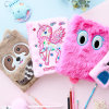 Animal Plush Notebook Soft Stuffed Diary Journal for Office Supplies