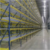 Typical Run of Pallet Storage Rack with Wire Mesh Decking