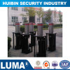 219mm Security Post Automatic Rising Bollards for Roadway Safety