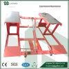 High Precision Single Point Lock Release Scissors Vehicle Lift