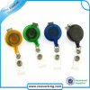 Retractable ID Badge Reel with Nickel Plated Swivel Hook