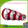 PU Cast Iron Ball Bearing Caster Wheel