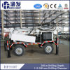 Hf510t Trailer Mounted Water Well Drilling Rig 260m Depth