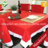 Large Christmas Red Snowflake Tablecloth 178cm X 132cm