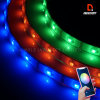 New Waterproof APP+Bluetooth Controlled LED Strips Color Chasing Ambient Lights Interior Exterior Lighting Kit 12/24V