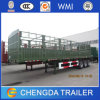 Triple Axle Heavy Duty Prime Mover Tractor Truck Fence Cargo Semi Trailer
