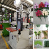 Simulation Fake Artificial Leaf Leaves Vertical Injection Molding Making Machine